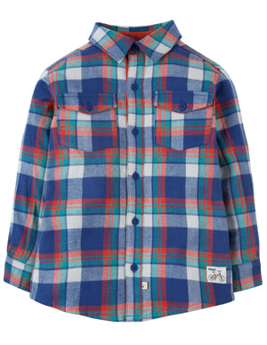 Frugi Hector Checked Shirt Cosy Check