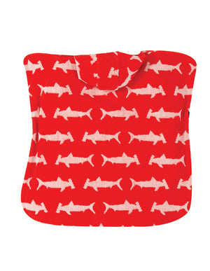 Frugi Little Havana Hooded Towel Hammerhead Sharks SS20