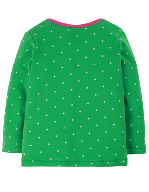 Bobby Applique Top Ditsy Spot/Horse AW20
