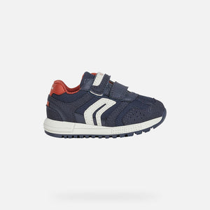 Geox B Alben Navy/Red
