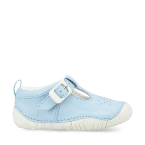 Start Rite Baby Jack Pale Blue Leather Pre-walker