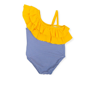NEW Tutto Piccolo 6060S19 B06 Electric Blue Swimsuit