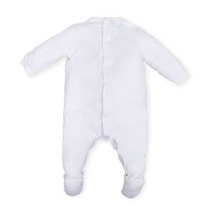 NEW Tutto Piccolo 6089S19/W00 Babygrow Optical White
