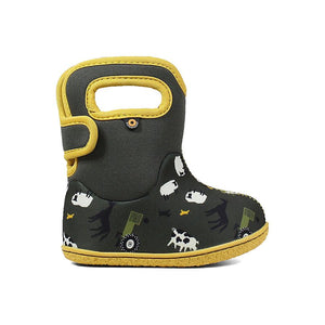 Baby Bogs farm green yellow multi