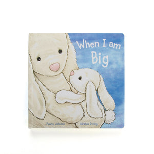 NEW JellyCat When I Am Big Book