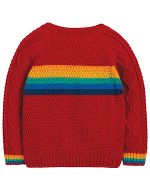 Frugi Caleb Cable Knit Jumper AW19