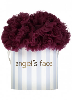 Angels face Gorgeous burgundy tutu