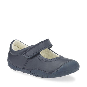 Start Rite Cruise Navy Leather Pre-walker