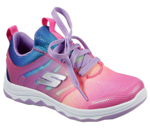 NEW Skechers Diamond Runner Neon Pink/Multi
