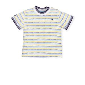NEW Tutto Piccolo 6640S19 B02 Porcelain T-shirt And Short Set
