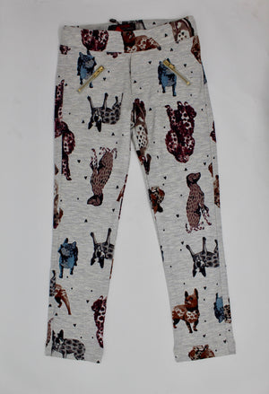 Catimini Dog Print leggings