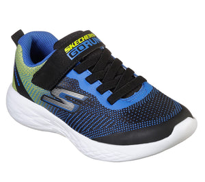 NEW Skechers Go Run 600 Farrox Black/Lime