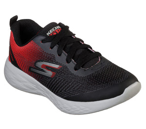 NEW Skechers Go Run 600 Haddox Black/Red