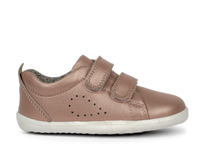 Bobux SU Grass Court Shoe Rose Gold