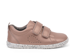 Bobux Grass Court Trainer Rose Gold