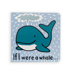 JellyCat If I Were A Whale... Book