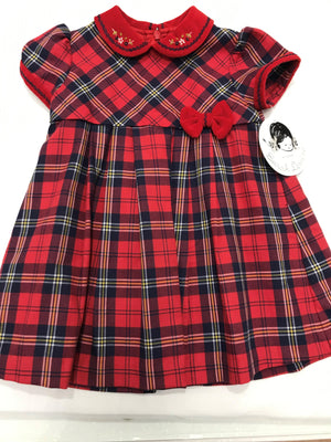 Sarah Louise Tartan Dress