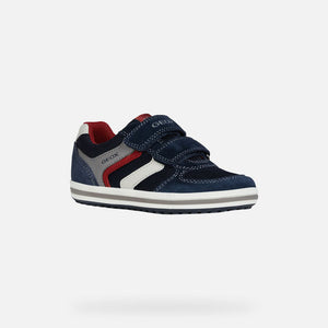 NEW Geox J Vita Navy/Red