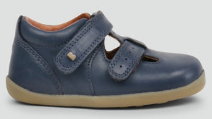 NEW Bobux Jack And Jill Navy Shoes