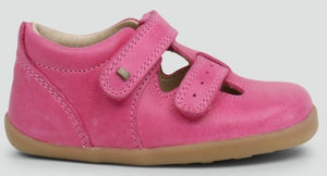 Bobux Jack And Jill Pink Shoes
