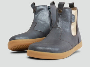 Bobux IW Jodphur Boot Charcoal Shimmer