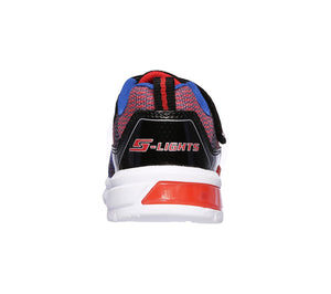 NEW Skechers Lava Wave Black/Red/Blue