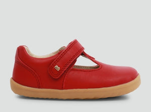 Bobux Louise T-Bar Rio Red AW19