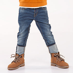 Mayoral 4506 021 Dark Pique Slim Fit Denim Jeans