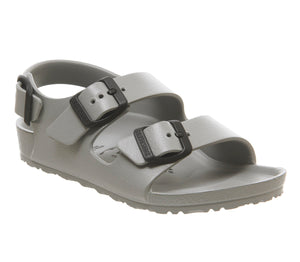 NEW Birkenstock Milano Eva Seal Gray