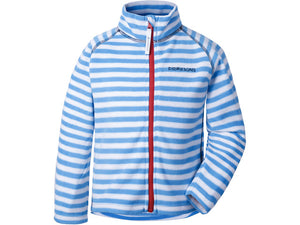 Didriksons Monte Fleece Jacket Blue Stripe