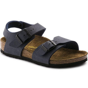 Birkenstock New York Kids Nubuck Navy