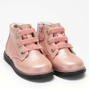 Lelli Kelly 'Sarah' - pink pearlised boot