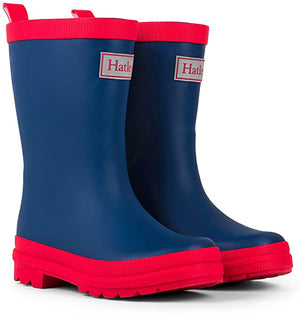 Hatley Navy and Red Splash Boots AW20