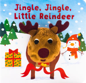Jingle Little Reindeer Puppet Book