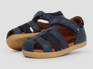 NEW Bobux Roam Closed Sandal Navy