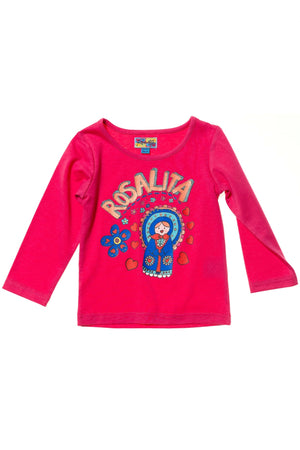 Rosalita Senoritas Borah T-shirt and Falda Unico Set