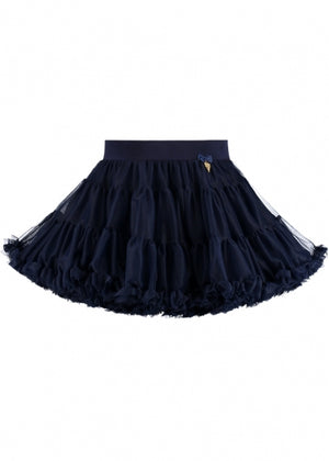 Angel Face Charm Tutu Skirt Navy