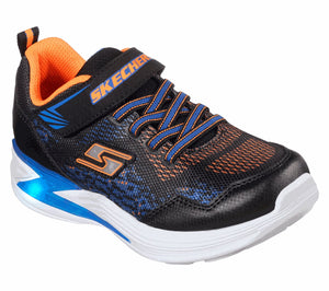 NEW Skechers Erupters Derlo Navy/Orange