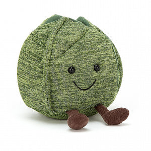 JellyCat Amuseable Christmas Brussel Sprout