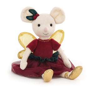 NEW JellyCat Sugar Plum Fairy Mouse