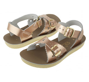 Saltwater Sweetheart Rose Gold Sandals
