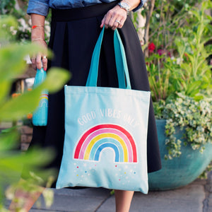 Sass & Belle Chasing Rainbows Tote bag
