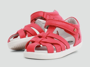 NEW Bobux Tropicana Closed Sandal Watermelon
