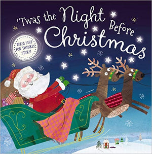 'Twas the Night Before Christmas Light Up Book