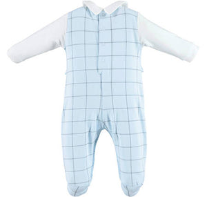 NEW IDo V200/00 Blue Babygrow