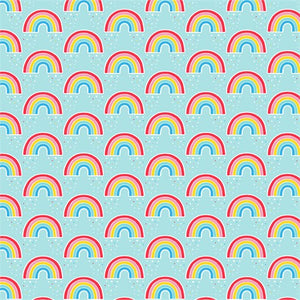 Sass & Belle Chasing Rainbows wrapping paper sheet