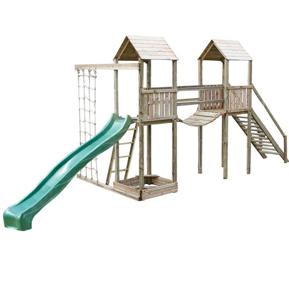 Wooden Climbing Frames – Kiddiplay