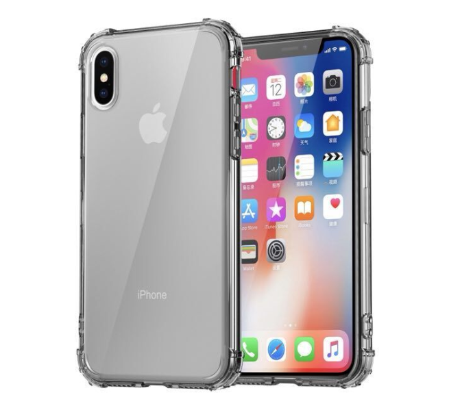 Silicone transparent case For For iPhone 11 Max Pro / XS / XS Max / XR / X / 10/8 / 8Plus