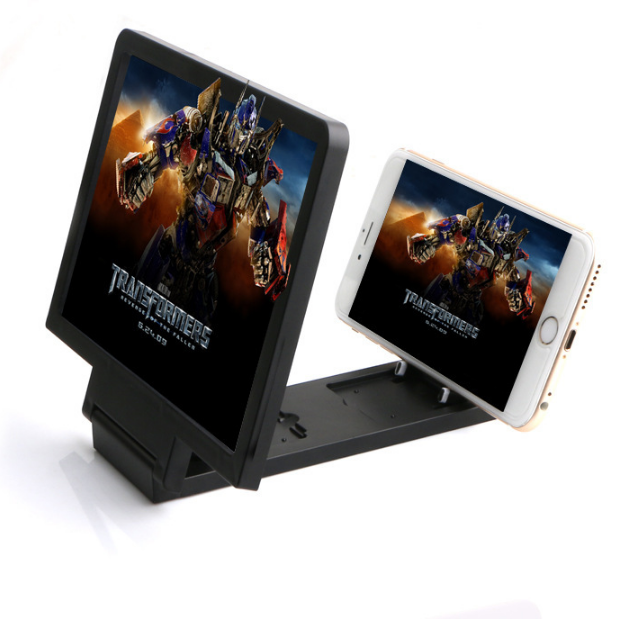 Radiation-proof 3D mobile phone screen amplifier mobile phone stand