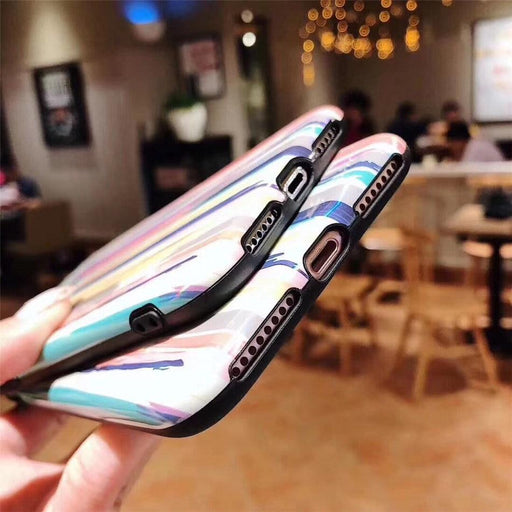 Colorful Rainbow Case For iPhone XS Max /XR /X